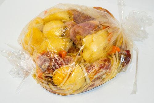 Картошка с мясом в духовке #шаг 7