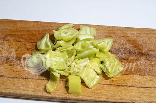 Мясо с овощами на сковороде #шаг 13