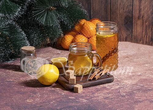 Яблочный глинтвейн безалкогольный #шаг 3