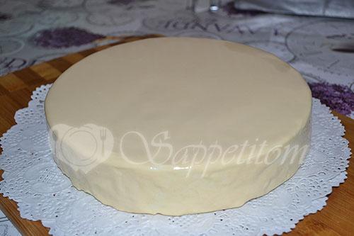 Муссовый торт манговый #шаг 39