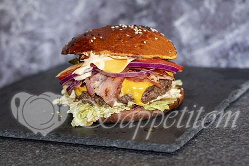 Бургер дома #шаг 21
