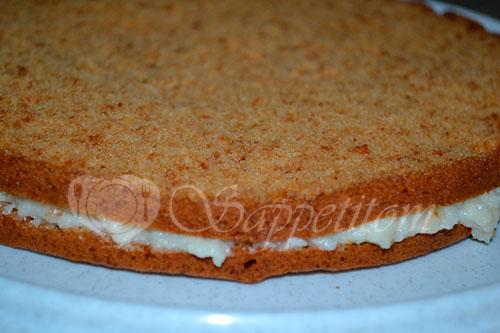 """Ленивый торт """"Медовик"""" в мультиварке #шаг 11"""