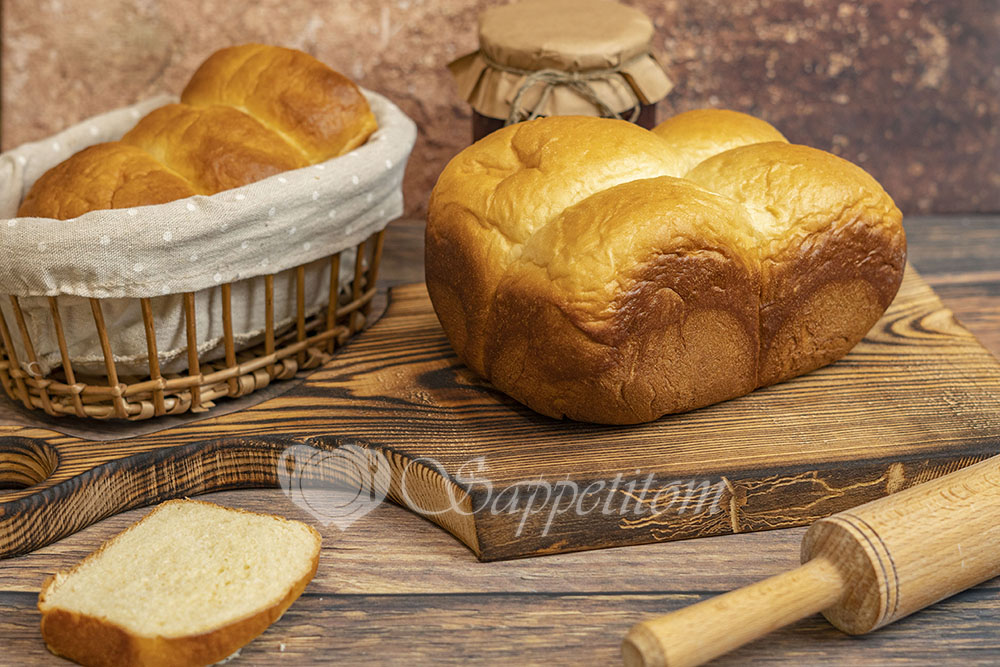 Булочки Хоккайдо в хлебопечке
