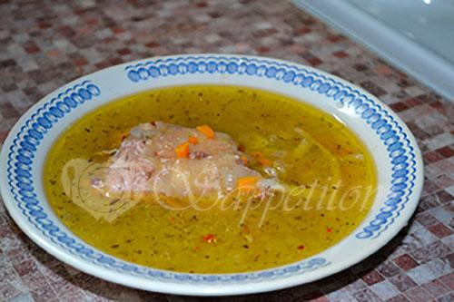 Куриный суп #шаг 5