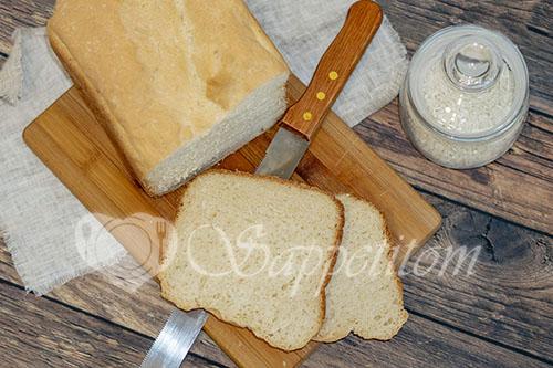 Рисовый хлеб в хлебопечке