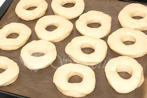 """Пончики дрожжевые """"Донатс"""" #шаг 12"""