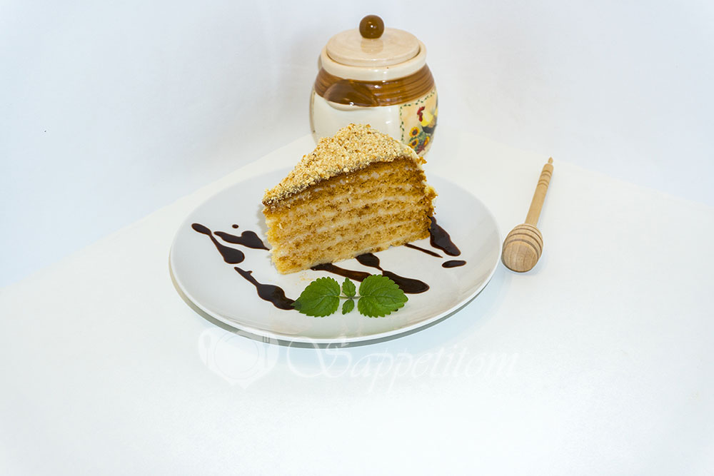 """Ленивый торт """"Медовик"""" в мультиварке"""