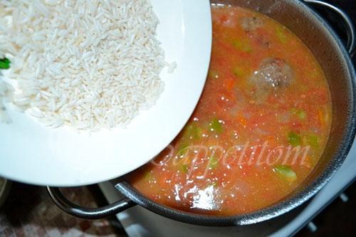 Суп Харчо #шаг 12