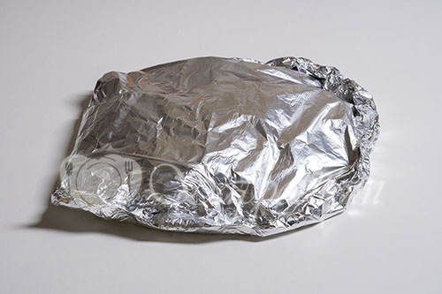 Минтай в духовке на овощной подушке #шаг 5