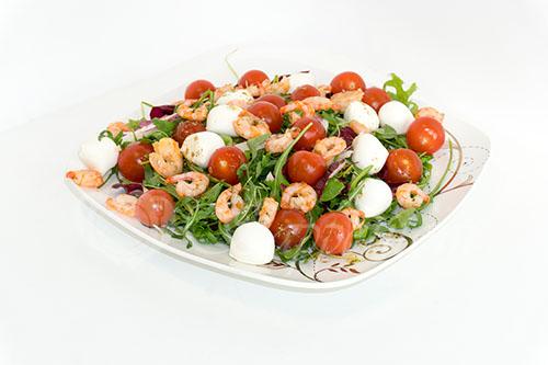 Салат с креветками #шаг 9