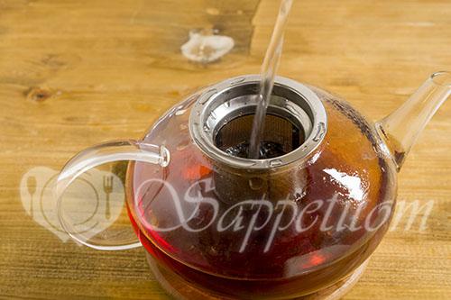 Ромашковый чай #шаг 1