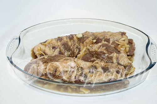 Свиные ребра целиком в духовке с картошкой #шаг 2
