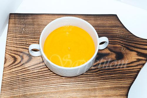 Суп-пюре из тыквы со сливками #шаг 10