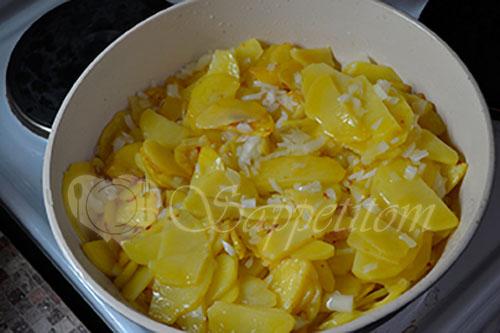 Жареная картошка #шаг 4