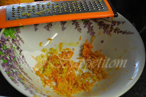 Курица в апельсиновом соусе в духовке #шаг 1