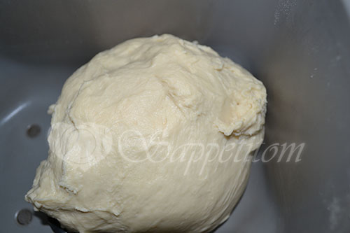 Молочный хлеб в хлебопечке #шаг 2