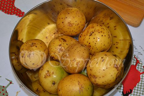 Картошка по-деревенски в духовке #шаг 2