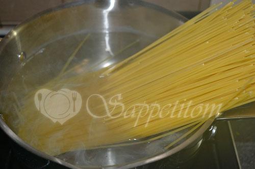 Спагетти с креветками #шаг 8