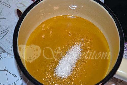 Пирожное Макарон (Macaron) манговый #шаг 1