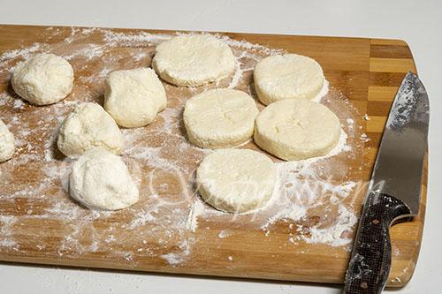 Сырники с манкой #шаг 6