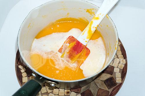 Суп-пюре из тыквы со сливками #шаг 9