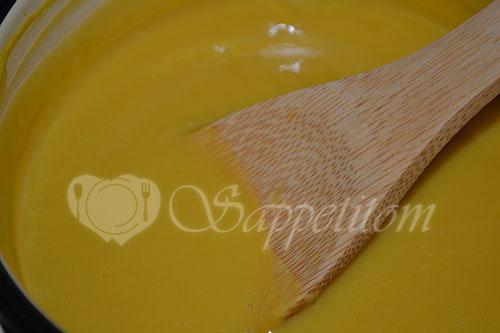 Пирожное Макарон (Macaron) манговый #шаг 4