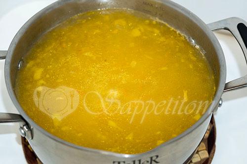 Куриный суп с вермишелью и картошкой #шаг 6