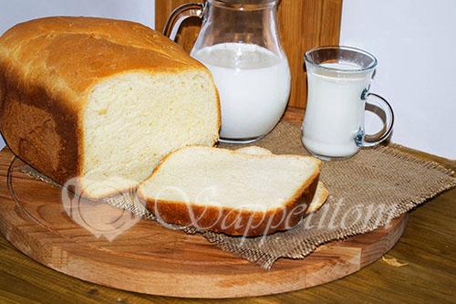 Молочный хлеб в хлебопечке