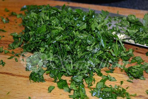 Салат с красной капустой #шаг 6
