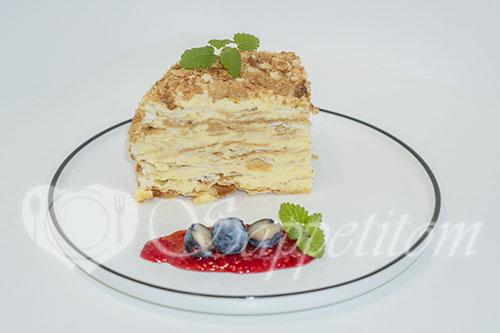 Торт Наполеон классический #шаг 30