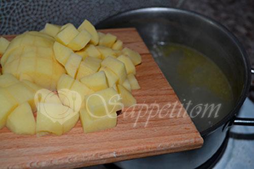 Суп с фрикадельками #шаг 6