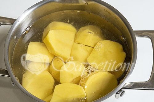 Вареники с картошкой #шаг 1