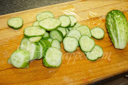 Греческий салат классический #шаг 4