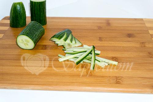 """Салат с корейской морковью""""Венеция"""" #шаг 1"""