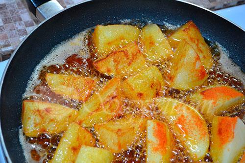 Золотистый картофель #шаг 6