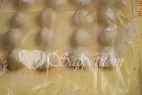 Пирожки с капустой в духовке #шаг 20