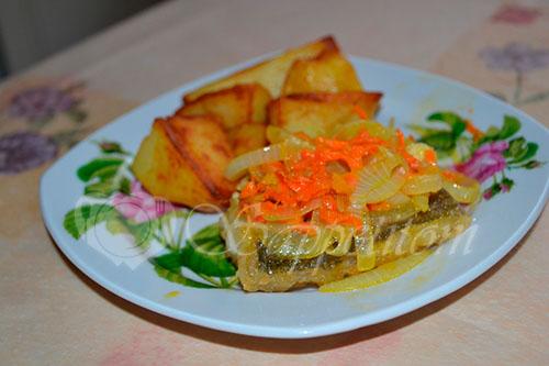 Золотистый картофель #шаг 8
