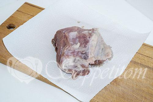 Отбивные из свинины на сковороде #шаг 1