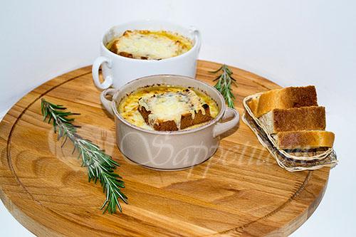 Французский луковый суп #шаг 13