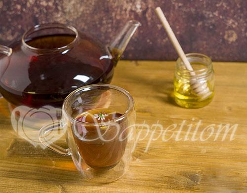 Ромашковый чай #шаг 3