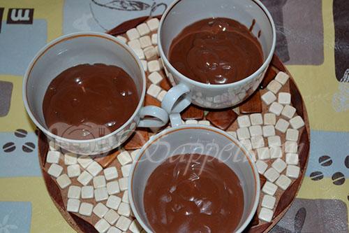 Горячий шоколад #шаг 8