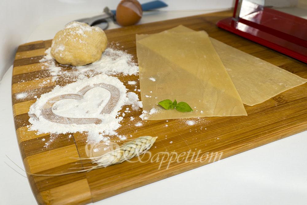 Тесто для лазаньи Паста #шаг 1