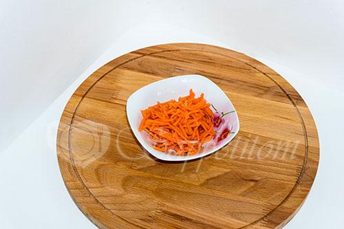Салат из пекинской капусты с курицей #шаг 15