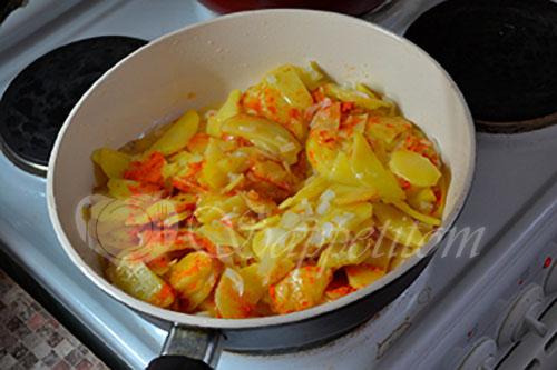Жареная картошка #шаг 5
