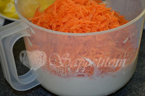 Морковный кекс #шаг 3