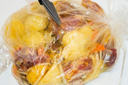 Картошка с мясом в духовке #шаг 8