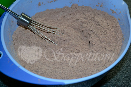 Шоколадные капкейки #шаг 2