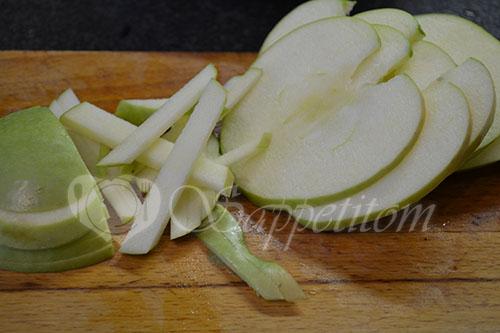 Салат с красной капустой #шаг 5