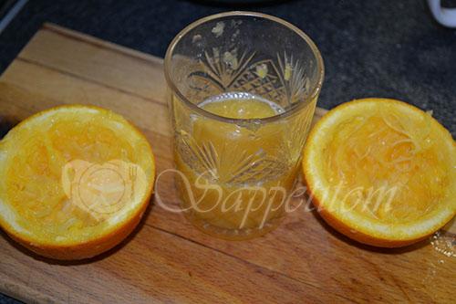 Карп в духовке с апельсинами #шаг 5