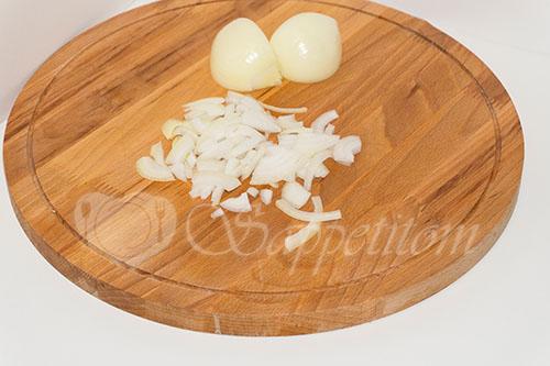 Курица с овощами на сковороде (чахобили) #шаг 1
